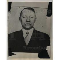 1939 Press Photo Nicholas Dozenberg Communist party leader passport fraud charge