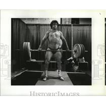 1990 Press Photo Soviet's Anatoly Khrapaty ready to compete at Goodwill Games