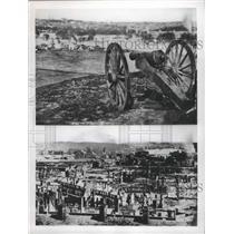 1961 Press Photo Civil War Scenes - fux00817