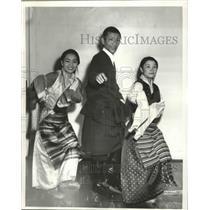 1963 Press Photo Tibetan People in Washington State - fux00939
