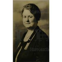 1929 Press Photo Nelle G. Burger Assistant Recording Secretary of National WCTU
