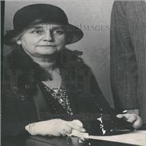 1931 Press Photo Mrs. Mina Edison, Inventor's Widow
