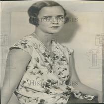 1929 Press Photo William Hearst Washington DC Daughter