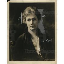 1928 Press Photo Mrs Robert E Spier President of National Board YWCA - nef43937
