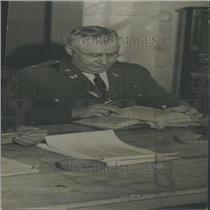 1937 Press Photo Major Louis Marry Mayor