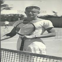 1937 Press Photo Tennis Player Jack Hyes