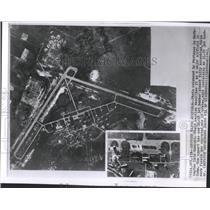 1962 Press Photo Major airfield Cuba Jet bomb Pentagon - RRY31935
