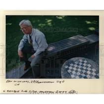 1997 Press Photo Dan Williams, U.P./Administration U of O - orc09464
