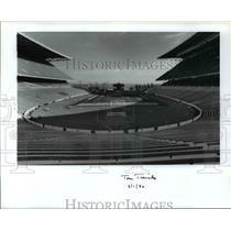 1990 Press Photo Husky Stadium - orc10432