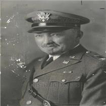 1935 Press Photo Col. Charles Larsen United States Army