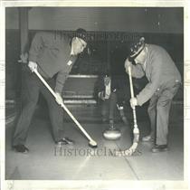 1967 Press Photo George Green Ken Grulee Bob Holt Club