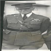 1938 Press Photo Major R. B. Lincoln US Army