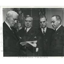 1941 Press Photo Railroad Union Oak Strike Roosevelt