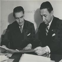 1935 Press Photo Count Carlo Beuf San Margano De