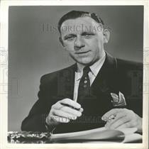 1954 Press Photo newsman Bob Constantine