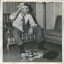 1953 Press Photo Denver Post Pride Family Newspaper