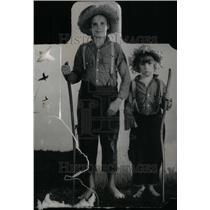 1930 Press Photo Jackie Coogan Robert Actors Hat Wood - RRU33593