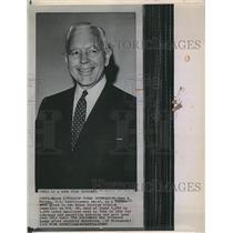 1963 Press Photo John A. McCone US Intelligence Chief Tells Of Cuba Guerrillas
