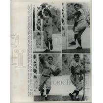 1965 Press Photo NY Mets Yogi Berra at practice in Pittsburgh PA - lfx03262