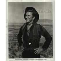 "1961 Press Photo Actor Kirk Douglas in ""The Last Sunset"" - lfx03514"
