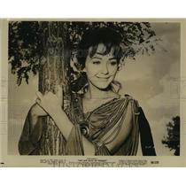 "1960 Press Photo Actress Christine Kaufmann in ""The Last Days of Pompeii"""