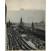 1951 Press Photo May Day at Red Square, Moscow, Russia - lfx01636
