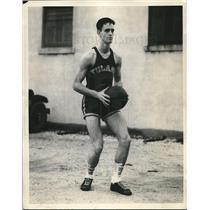 1933 Press Photo Arthur Taylor, center, Tulane Basketball - nes05687