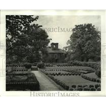 1940 Press Photo Stratford House, Westmoreland County, Virginia - ftx00339