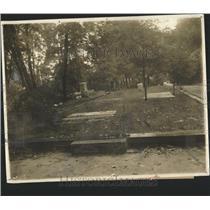 1923 Press Photo Grave Col John Hamtramek - RRY48911