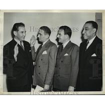 1945 Press Photo New York New York Eddie Eagan named to Boxing Board NYC