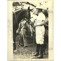 Undated Press Photo GovGenFrank Murphy, Chief Executive of Philippines play Polo