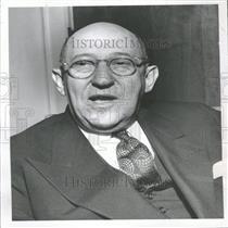 1950 Press Photo Dr. Morris Fishbein