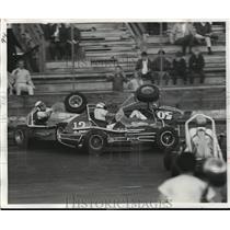 1969 Press Photo Ed Stefcheik in Portland Jantsen Beach Track Car Race