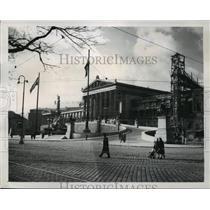 1949 Press Photo Austrian Parliament, Ringstrasse, Vienna - ftx00405