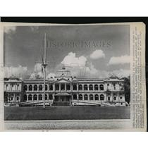 1960 Press Photo Saigon, Vietnam Presidential Palace of Ngo Dinh Diem