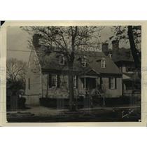 1926 Press Photo Rising Sun Tavern in Fredericksburg, Virginia - ftx00471