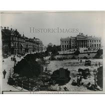 1934 Press Photo Hungarian Town - ftx00578