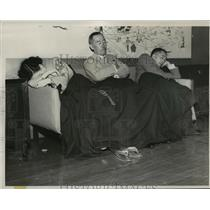 1951 Press Photo Japanese Peace Treaty Delegates in Seattle Layover - ftx00581