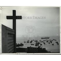 1965 Press Photo Peru Fishing Fleet, Lima Seaport, Gallao - ftx00784