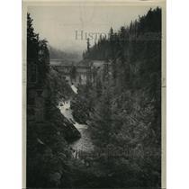 1949 Press Photo Bonners Dam - spa39664
