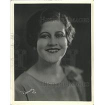 1927 Press Photo Kathryn Praether of the Wilkes Players
