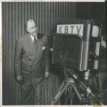 1953 Press Photo Denver Personality Joe Flood