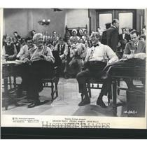 "1960 Press Photo Spencer Tracy ""Inherit The Wind"""