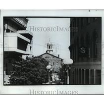 1980 Press Photo Historic Faneuil Hall in Boston - mja54833