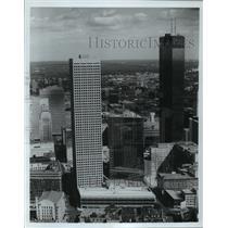 1983 Press Photo Buildings in downtown Minneapolis, Minnesota - mja54176