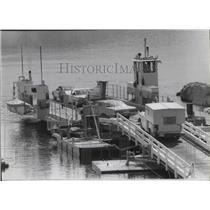 1983 Press Photo Keller Ferry at Lake Roosevelt - spa41847