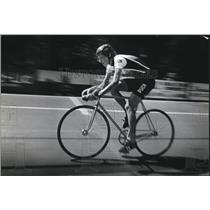 1982 Press Photo Connie Carpenter, Cyclist - mja52472