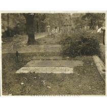1926 Press Photo Grave Col John Hamtramek