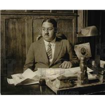 1925 Press Photo Mahmoua Samy Pacha new Egyptian Minister to US - nep03209