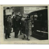 1928 Press Photo New DSR Coaches on Woodward - nef57999